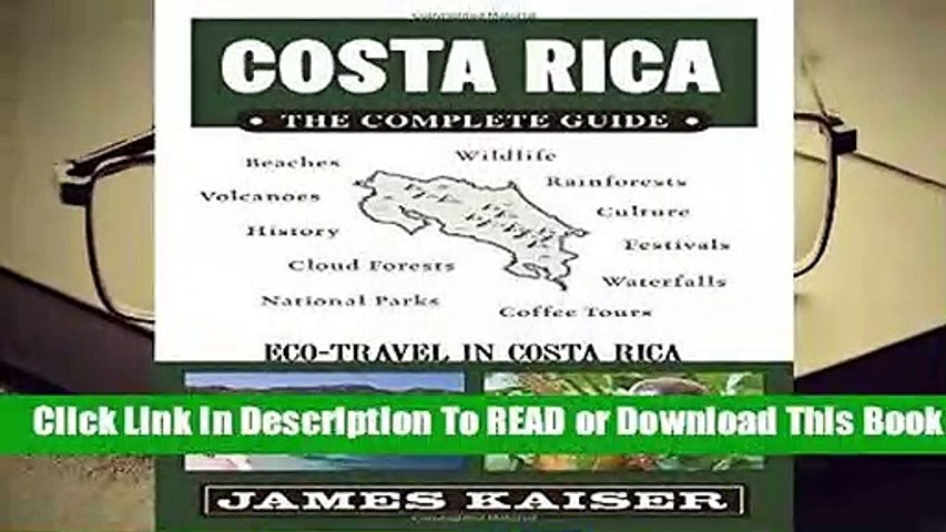 Online Costa Rica: The Complete Guide: Ecotourism in Costa Rica (Color Travel Guide) For Trial   Godialy.com