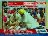 Sunny Deol, BJP Candidate for Gurdaspur, Punjab, Campaign Trail; Lok Sabha Elections 2019