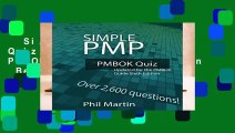 Simple PMP PMBOK Quiz: Updated for the PMBOK Guide Sixth Edition  Best Sellers Rank : #5