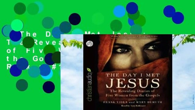 The Day I Met Jesus: The Revealing Diaries of Five Women from the Gospels  Best Sellers Rank : #1