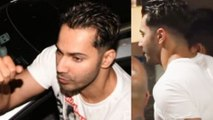 Varun Dhawan STYLISH New Look For Coolie No.1 With Sara Ali Khan