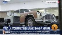 L'Aston Martin iconique de James Bond est à vendre