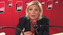 """Marine Le Pen, """"Je ne suis pas présidente de la République...je suis chef de l'opposition."""""""