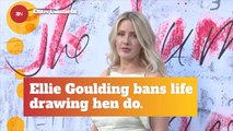 Ellie Goulding Knows What She Wants At Her Bachelorette Party
