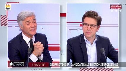 Geoffroy Didier - Public Sénat jeudi 16 mai 2019