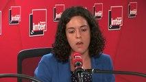 """Manon Aubry : """"On n'a plus le temps d'attendre 12 ans pour changer les choses, on a d'ailleurs déposé à l'Assemblée nationale une résolution demandant un état d'urgence climatique et écologique"""""""