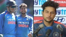 IPL 2019 : Kuldeep Yadav Clarifies Comments On Mahendra Singh Dhoni ! || Oneindia Telugu