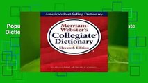 Popular to Favorit  Merriam-Webster's Collegiate Dictionary by Merriam-Webster