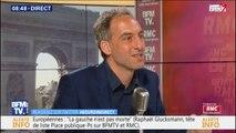 """Raphaël Glucksmann: """"On ne s'arrêtera pas tant que la gauche ne sera pas de retour"""""""