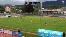 Les buts de la rencontre Thonon Evian - FC Lyon