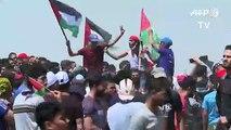 """Des milliers de Palestiniens manifestent pour commémorer la """"Nakba"""""""