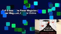 Full E-book The Paper Magician (The Paper Magician, #1)  For Online
