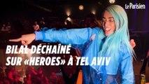 Eurovision : Bilal Hassani déchaîné sur «Heroes» au Theatre Club de Tel Aviv