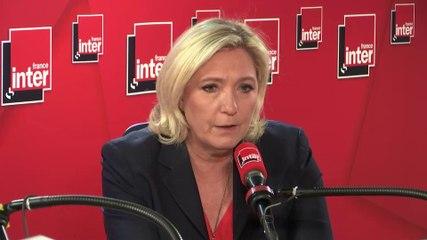 Marine Le Pen - France Inter jeudi 16 mai 2019