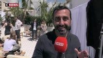 Jean Dujardin interviewé à Cannes
