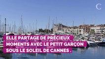 PHOTOS. Cannes 2019 : Quand Eva Longoria joue les mamans poules avec son fils Santiago à la plage