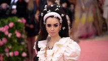 Lily Collins' Met Gala necklace needed it's own security team