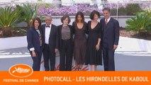 LES HIRONDELLES DE KABOUL - Photocall - Cannes 2019 - VF