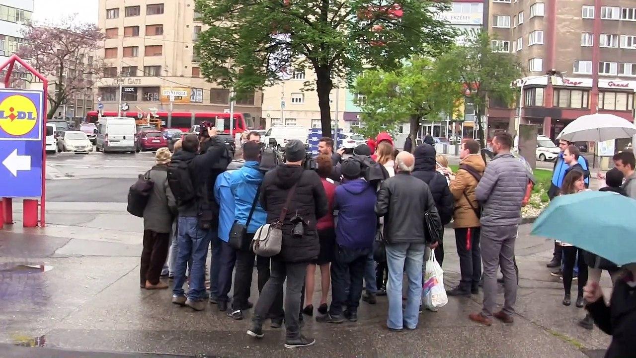 """Primátor Bratislavy M. Vallo - """"Bratislavu čaká zmena verejného priestoru,, začíname s Námestím SNP a Kamenným námestím"""