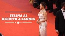 Selena Gomez contro i social al Festival di Cannes