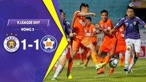 HIGHLIGHTS | Hà Nội 1-1 SHB Đà Nẵng | V.League 2017 | Trận cầu của Quang Hải và những siêu phẩm