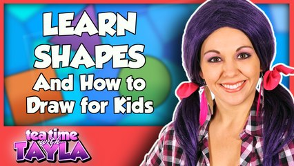 Learn Shapes and How to Draw for Kids