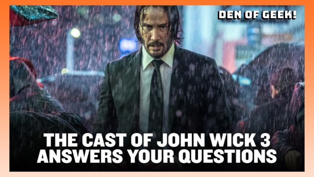 The Cast of John Wick 3 Answers Your Questions