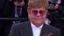 Elton John sur le tapis rouge avec l'équipe du film Rocket Man - Cannes 2019