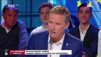 Nicolas Dupont-Aignan invité du Grand oral des GG sur RMC