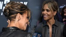 Halle Berry Shows Off Newly Buzzed Hair at 'John Wick' Premiere