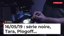 Série noire, Tara, Plogoff, Stade Rennais... Cinq infos bretonnes de ce 16 mai