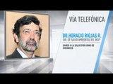 Medidas ante altos índices de contaminación por Horacio Riojas, director del INSP