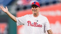 Watch Bruce Willis Get Booed by Phillies Fans After Throwing Out the First Pitch