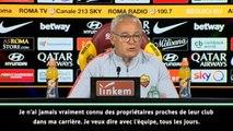 Roma - Ranieri analyse la relation entraîneur/président