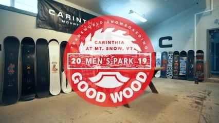 Burton Free Thinker Review: Men's Park Winner – Good Wood Snowboard Test 2018-2019