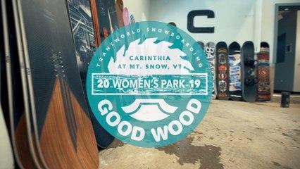 Signal Ambient Review: Women's Park Winner – Good Wood Snowboard Test 2018-2019