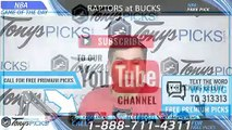 Toronto Raptors vs Milwaukee Bucks 5/17/2019 Picks Predictions