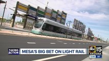 Mesa's credits downtown expansion to light rail