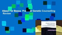 About For Books  Practical Genetic Counselling  Review