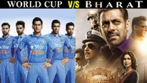 Salman Khan Does Not Fear World Cup 2019 | Bharat VS India South Africa World Cup Match