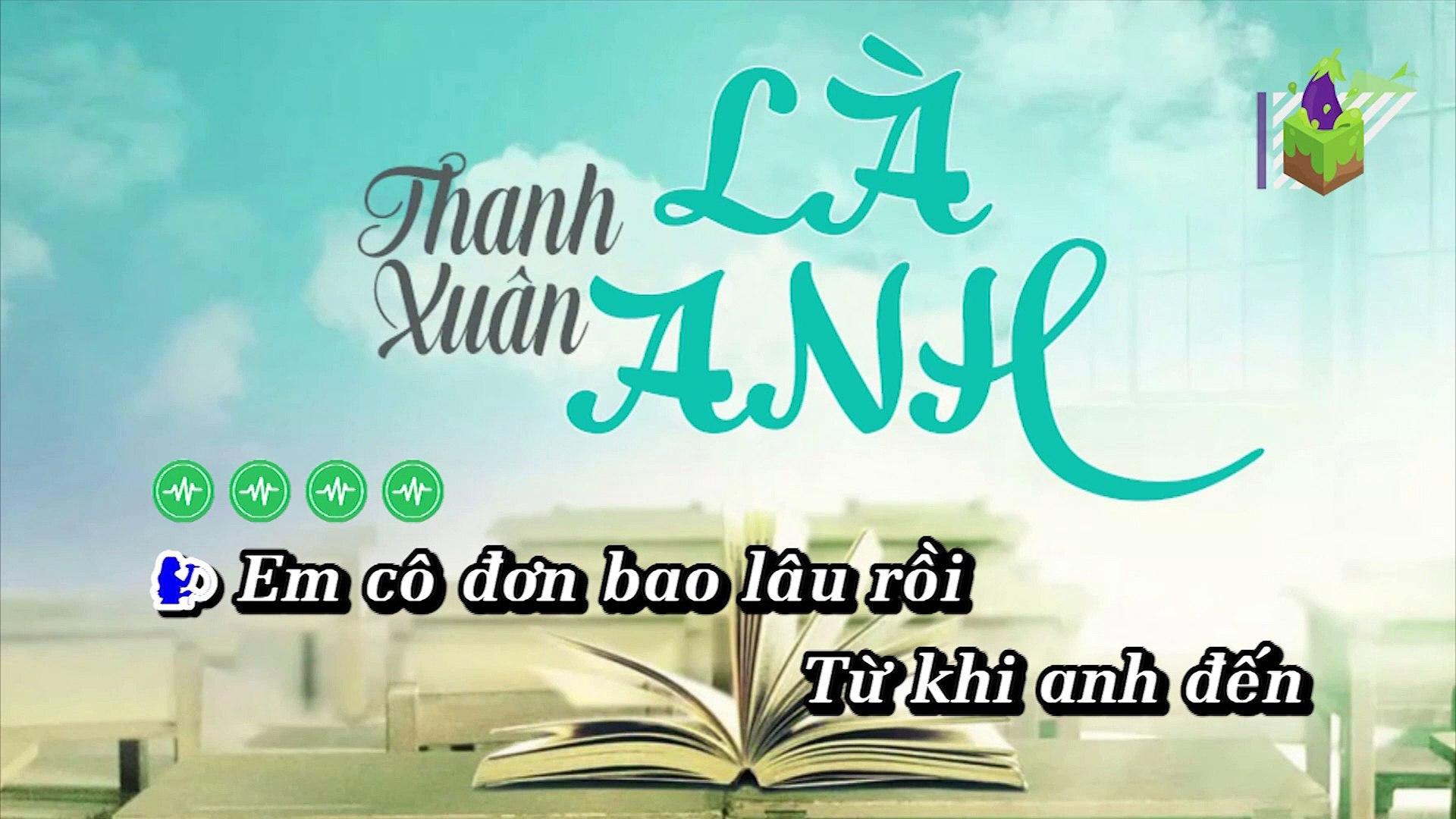 [Karaoke] Thanh Xuân Là Anh - 2T Ft. Ndiên, Shenlongz [Beat]
