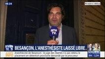 """L'avocat de l'anesthésiste de Besançon, laissé libre, affirme avoir """"des éléments de défense très sérieux"""""""