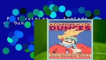 Full version  A Confederacy of Dunces  Review