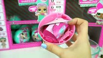 Opening New Version of L.O.L Surprise Dolls Wave 2 - Lil  Toy Surprises Baby Dolls that Pee Spit Cry