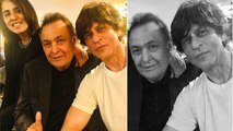 Shahrukh Khan meets Rishi Kapoor in New York: Check Out Here |FilmiBeat