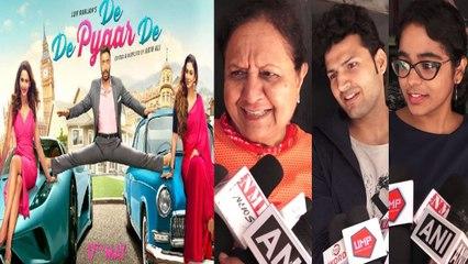 De De Pyaar De Public Review from Mumbai: Ajay Devgn | Tabu | Rakul