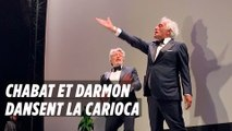 Festival de Cannes : Chabat et Darmon dansent la carioca