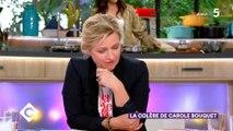 """""""C à vous"""" retrouve une archive où Carole Bouquet évoquait les enfants maltraités face... à Thierry Beccaro ! Vidéo"""