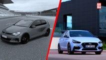 VÍDEO: Volkswagen Golf GTI TCR vs Hyundai i30 N Performance, duelo en el circuito