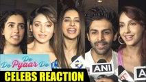 Bollywood CELEBS Movie Review On Ajay Devgn's De De Pyar De